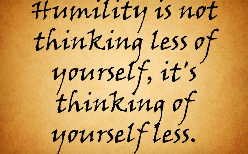 Way 7: Humility